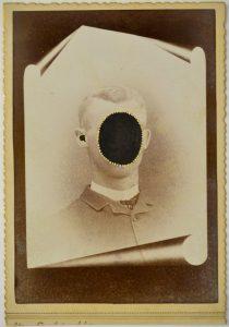 Tom Butler | Sam | 2015 | Gouache on albumen print | 16.5×10.5cm
