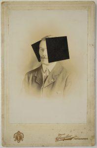 Tom Butler | T | 2015 | Gouache on albumen print | 16.5×10.5cm