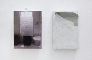 Lorraine Fossi   Le Grande Illusion   2015   Mixed media   15x10x3cm (x2)