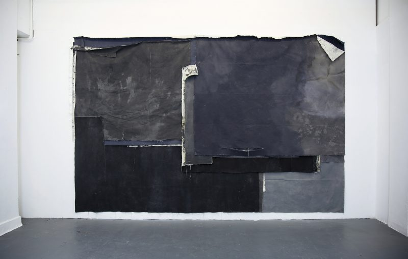 Tess Williams | T.L.A | 2015 | Ink, acrylic, pastel on canvas | 240x215cm