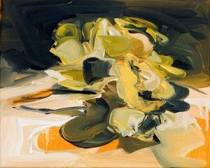 Susan Sluglett | Persuasion | 2014 | Oil on canvas | 25.5×35.5cm