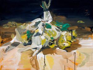 Susan Sluglett | Star Trap | 2014 | Oil on canvas | 51x61cm