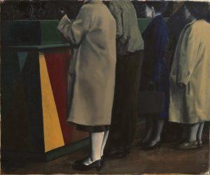 Michael Slusakowicz | Targ 2 | 2014 | Oil on canvas | 25x35cm