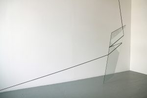 Ben Woodeson | Comfort and Joy | 2014 | Glass and cord | Dimensions variable