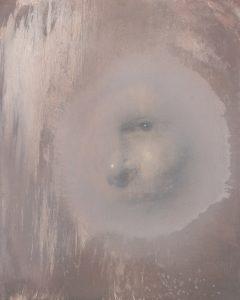 Gavin Tremlett | Hybris 6 | 2016 | Charcoal, graphite, oil on linen | 50x40cm