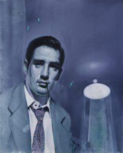 Gavin Nolan | Purple Patch | 2016 | Oil on linen | 30x24cm