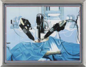 John Stark | Invisible Hand | 2016 | Oil on wood panel (framed) | 30.5x40cm
