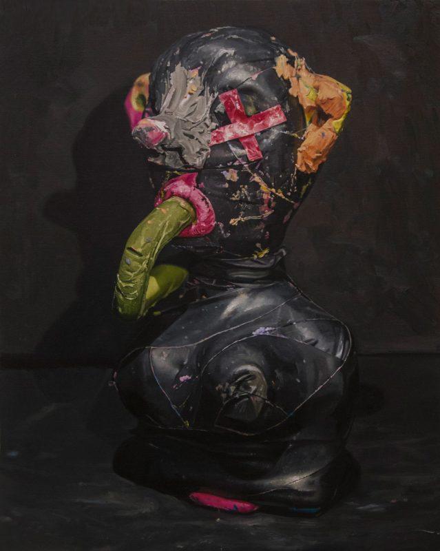 Jonny Green   Salo   2016   Oil on canvas on board   90x72cm