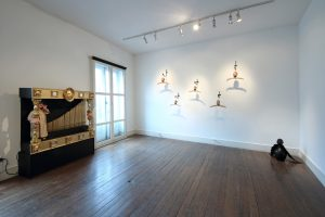 Curious Room | Wendy Mayer | CHARLIE SMITH LONDON | Installation View (3) | 2016