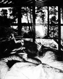 Florian Heinke | When time sleeps 25 | 2016 | Acrylic on untreated canvas | 150x120cm