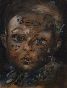 Sam Jackson   Compassion   2016   Oil on board   20x15cm