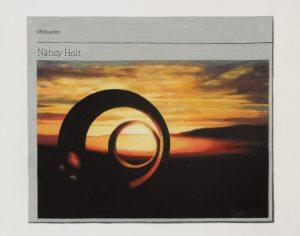 Hugh Mendes | Obituary: Nancy Holt | 2015 | Oil on linen | 35x25cm