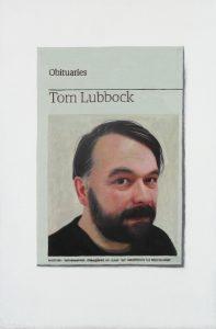 Hugh Mendes | Obituary: Tom Lubbock | 2011 | Oil on linen | 30x20cm