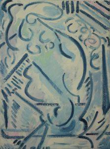 Kiera Bennett | Cave | 2016 | Oil on canvas | 40x30cm