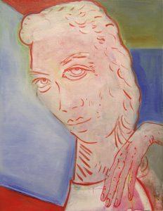 Aly Helyer | Hyacinth Girl | 2016 | Oil on linen | 50.5x39cm