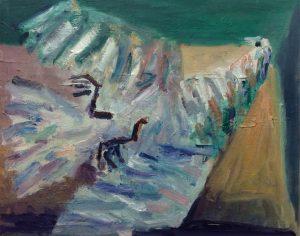 Paul Housley | Dead Dove | 2016 | Oil on canvas | 40x50cm