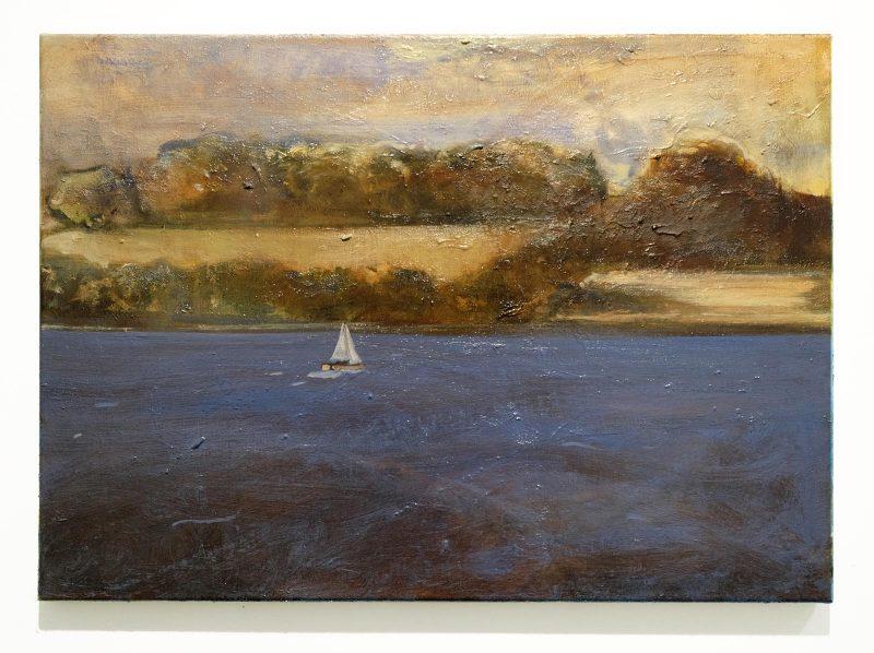 Peter Ashton Jones | The Swell | 2016 | Oil on linen | 40.5×56.5cm