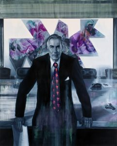 Gavin Nolan | A Warrior Jungle Whiner | 2017 | Oil on canvas | 155x125cm