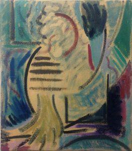 Kiera Bennett | Painter | 2016 | Oil on canvas | 40x35cm