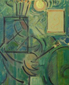 Kiera Bennett | Painter's Table | 2016 | Oil on canvas | 55x45cm