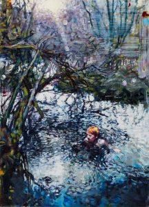 Dominic Shepherd | A Cold Spell | 2016 | Oil on linen | 50x36cm
