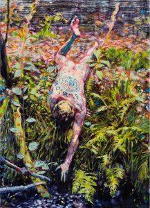 Dominic Shepherd | Narcissus | 2017 | Oil on linen | 50x36cm