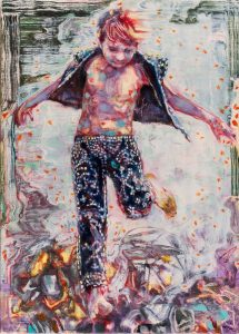 Dominic Shepherd | The Fool | 2015 | Oil on linen | 42x30cm