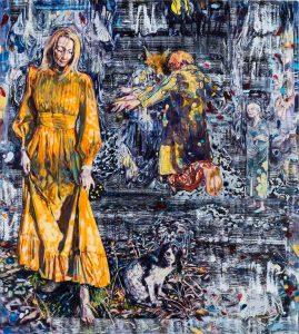 Dominic Shepherd | The Vixen | 2016 | Oil on linen | 102x92cm
