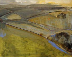 Peter Ashton Jones | The Hand Glider | 2017 | Oil on canvas | 41x51cm