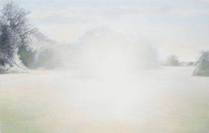 Barry Thompson   Whitey   2015   Oil on panel   11.5x18cm