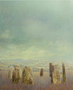 Sam Douglas   Hoar Stones   2016   Oil, varnish on board   30x25cm
