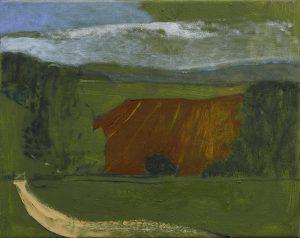 Peter Ashton Jones | The Field | 2013 | Oil on canvas | 40.5x51cm
