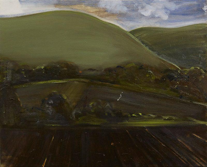 Peter Ashton Jones | The Ploughed Field | 2016 | Oil on canvas | 41x51cm