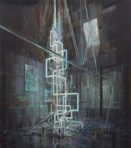 Tom Ormond | Cometh the Makers | 2011 | Oil on linen | 183x162cm