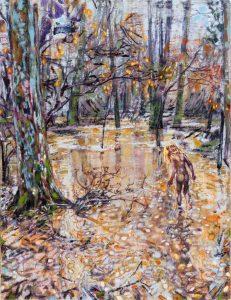 Dominc Shepherd | After the Rain | 2017 | Oil on linen | 58x44cm