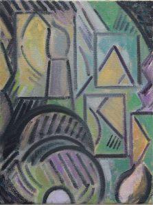 Kiera Bennett | Hooked (Small) | 2014 | Oil on canvas | 40x30cm