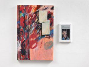 Alastair Gordon & Hugh Mendes | Obituary: One Must Select What Part | 2017 | Oil on panel & Oil on linen | 90x90cm