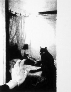 Florian Heinke | Die Nachtwache (The Night Vigil) | 2017 | Acrylic on untreated canvas | 90x70cm