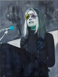 Gavin Nolan | Triscopic | 2017 | Oil on canvas | 24x18cm
