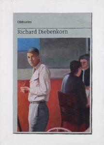 Hugh Mendes | Obituary: Richard Diebenkorn | 2017 | Oil on linen | 35x25cm
