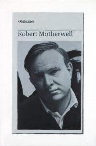Hugh Mendes | Obituary: Robert Motherwell | 2017 | Oil on linen | 30x20cm