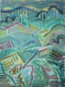 Kiera Bennett | Damp Plein Air | 2018 | Oil on canvas | 40x30cm