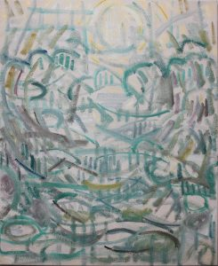 Kiera Bennett | Landscape Portrait | 2018 | Oil on canvas | 55x45cm