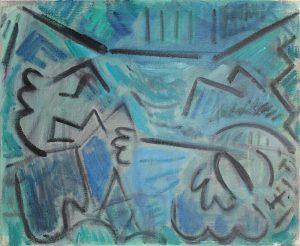 Kiera Bennett | Painters Hand | 2018 | Oil on canvas | 45x55cm
