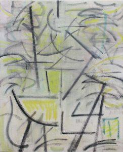 Kiera Bennett | Yellow and Black Studio | 2018 | Oil on canvas | 55x45cm