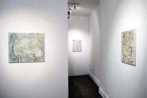 Kiera Bennett | Studio Face | CHARLIE SMITH LONDON | Installation view (6)