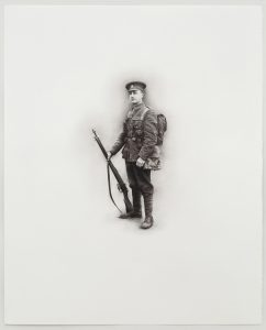 Barry Thompson   Sturnus Vulgaris   2016   Pencil on paper   50x40cm