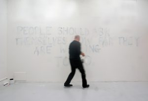 Tim Etchells | Some Imperatives | 2011 | Performance (performed by Andrew Stevenson)