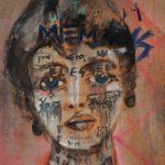 Sam Jackson | Memories | 2018 | Oil on panel | 20x18cm