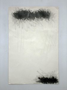 Michael Scoggins | Unsaid, March 3rd 2011 | 2011 | Graphite on archival newsprint | 101.6x66cm